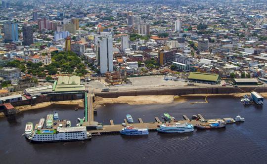 Porto de Manaus - Vista Aerea